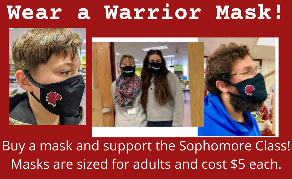 Purchase a WLC Warriors Mask!