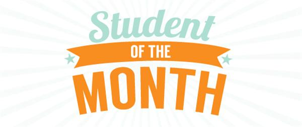 October Students of the Month Announced