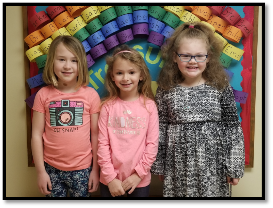 Student of the Month - Kindergarten