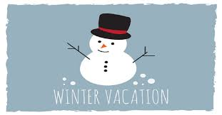 Winter Vacation 2/24-2/28