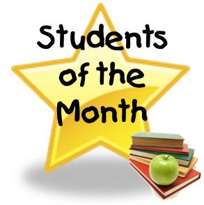 November Student of the Month- Sydney Beam and Evan Kimball