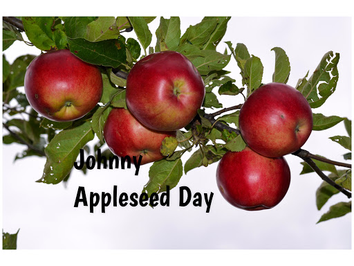 September 26th is Johnny Appleseed Day