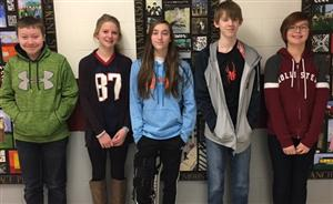 January MS Students of the Month