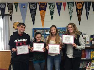 September High School Students of the Month