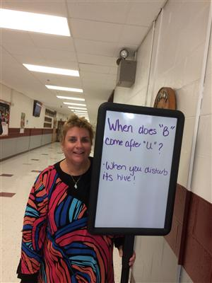 Start the Day with a Smile with Mrs. Draper